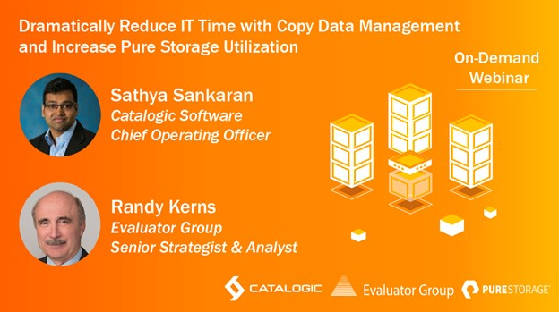 Dramatically Reduce IT Time With Copy Data Management and Increase Pure Storage Utilization