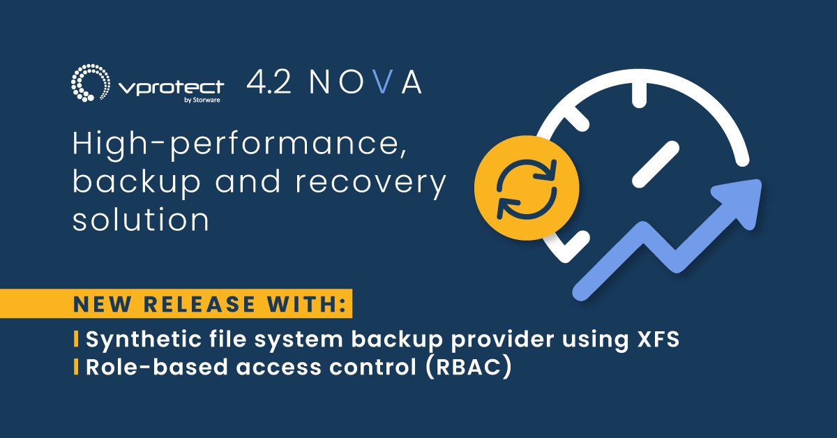 Backup Your Open Virtual Machines and Clouds with vProtect 4.2