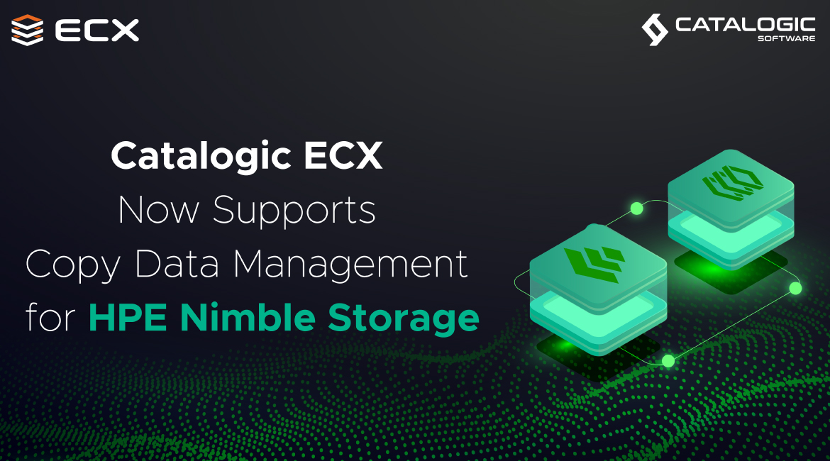 ECX Copy Data Management for HPE Nimble Storage Now Available
